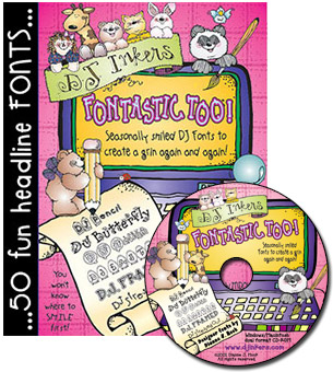 Fontastic Too Font CD