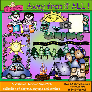 Away From It All Clip Art Download