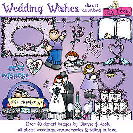 Wedding Wishes Clip Art Download