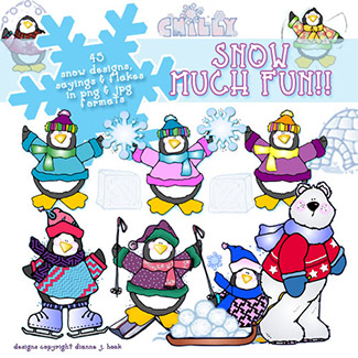 Snow Much Fun Clip Art Download
