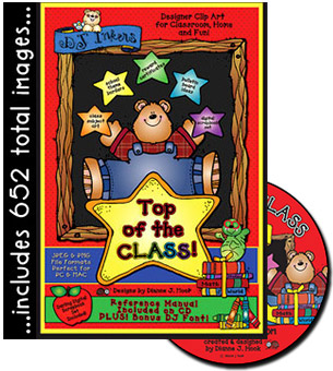 Top of the Class Clip Art CD