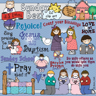 Sunday Best Clip Art Download