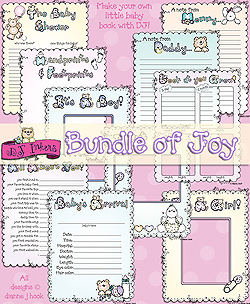 Bundle Of Joy Printable Baby Book Download