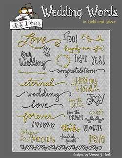 Wedding Words Clip Art Download