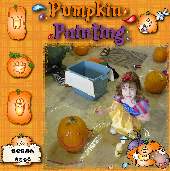 Clip art for Halloween & pumpkin patch smiles by DJ Inkers