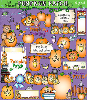 Pumpkin Patch Clip Art Download