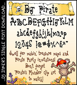 DJ Pirate Font Download