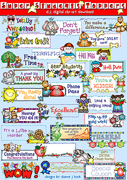 Super Students Toppers Clip Art Download