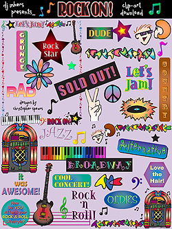 Rock-On Clip Art Download