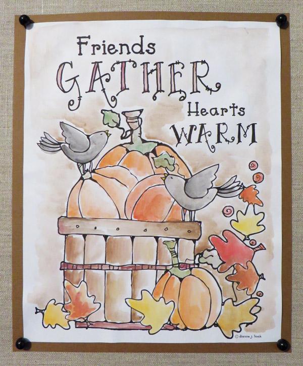 Delightful autumn & harvest clip art by DJ Inkers