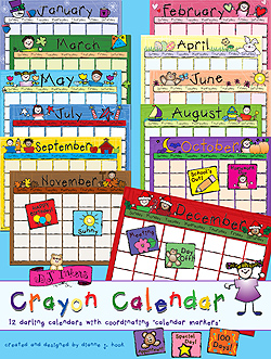 Crayon Calendar Download