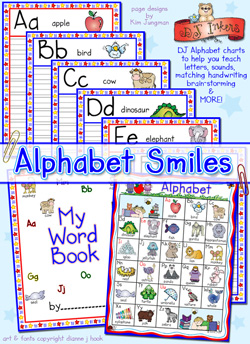 Alphabet Smiles Activity Download