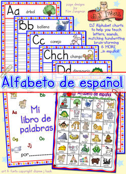 Alfabeto De Español - Spanish Learning Printable