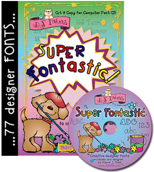 Super Fontastic Font CD