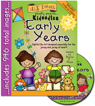Kidoodlez Early Years Clip Art CD