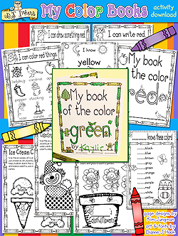 My Color Books Learning Printables
