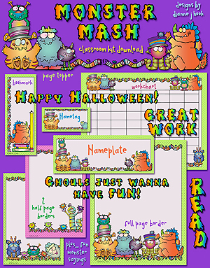 Monster Mash Classroom Kit Download