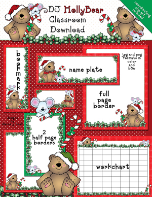Holly Bear Classroom Kit Download