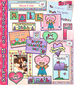 Valentine Mailbox Activity Download
