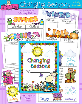 Changing Seasons Activity Download