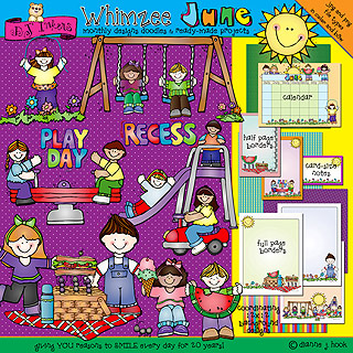 June Whimzee Clip Art Download
