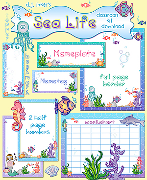 Sea Life Classroom Kit Download