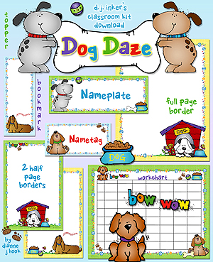 Dog Daze Classroom Kit Download