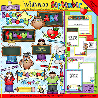 September Whimzee Clip Art Download