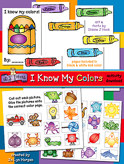 I Know My Colors Activity Download