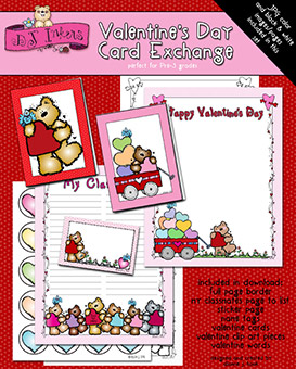 Valentine's Day Card Exchange Download