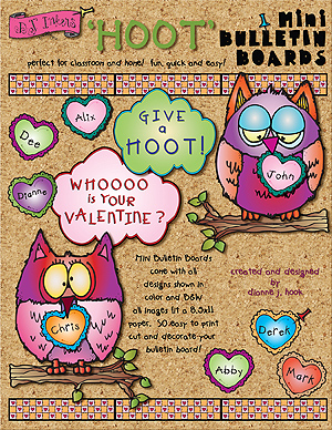 Give A Hoot Printable Bulletin Board