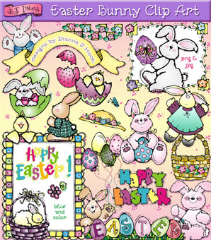Easter Bunny Clip Art Download