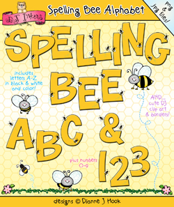 Spelling Bee Clip Art Alphabet Download