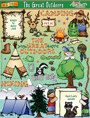 The Great Outdoors Clip Art Download