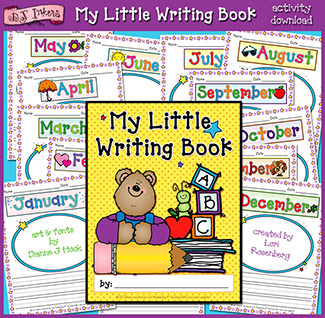 My Little Writing Book Activity Download