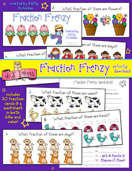 Fraction Frenzy Activity Download