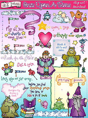 Once Upon A Time Clip Art Download