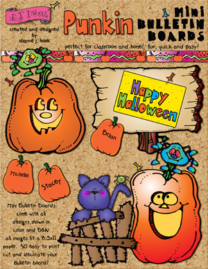 Punkin Printable Bulletin Board Download