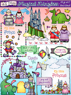 Magical Kingdom Clip Art Download