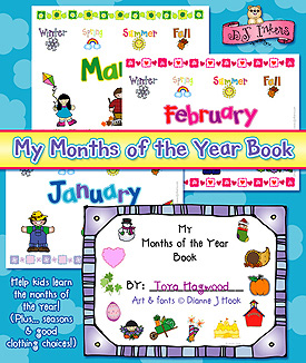 Months Of The Year Activity Download