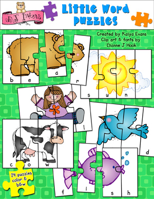 Little Word Puzzles Activity Download