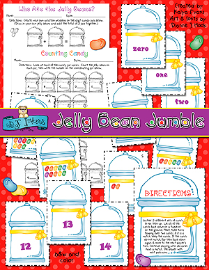 Jelly Bean Jumble Counting Activity Download