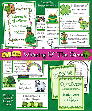 Wearing O' The Green - St. Patrick's Day Facts and Opinions