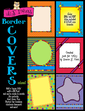 Border Covers Vol. 1 Clip Art Download