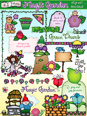 Magic Garden Clip Art Download
