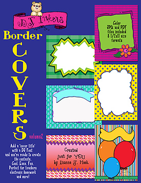 Border Covers Vol. 2 Clip Art Download