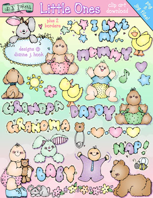 Little Ones Clip Art Download