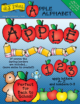 Apple Clip Art Alphabet Download