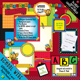 School Wise Scrapbook Download