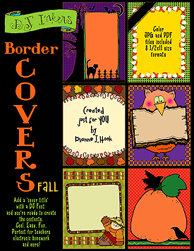 Border Covers Fall Clip Art Download